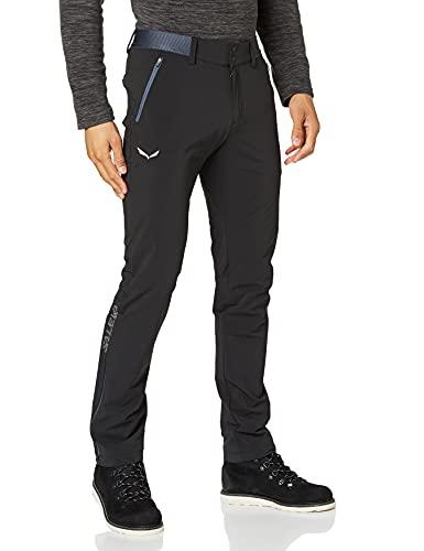 Salewa Pedroc 3 Dst M Reg Pnt Pantalones, Hombre, Black Out/3860, 50/L