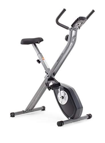 Cadence Smartfit 100 - Bicicleta estática plegable unisex, color negro y plateado