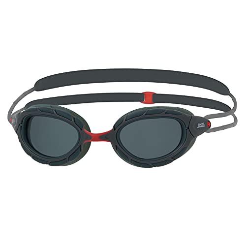 Zoggs Predator Polarized-Smaller Fit Gafas de natación, Adultos Unisex, Grey/Smoke/Polarized, S