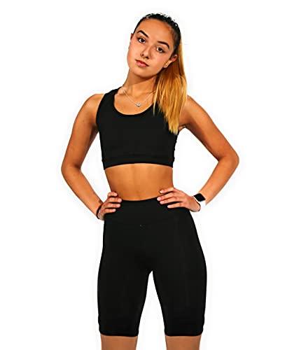 Mallas Push Up para Deporte de Mujer, Leggins Pantalon Ciclista Deporte Yoga, Leggings Ciclista...*