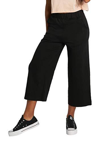 Urban Classics Ladies Culotte Pantalones Deportivos, Negro (Black 00007), 42 (Talla del fabricante:...*