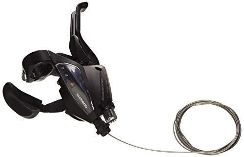 Shimano 5384 Rapid-Fire - Palanca de cambios y freno para bicicleta (3 velocidades con indicador de...*
