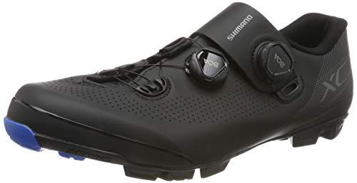 Shimano SH M MTB XC7 N.46, Zapatillas de Ciclismo de Carretera Hombre, Negro (Negro 000), 46 EU