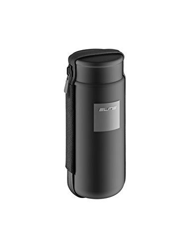 Elite Takuin Storage Case Botella, Unisex Adulto, Negro/Rojo