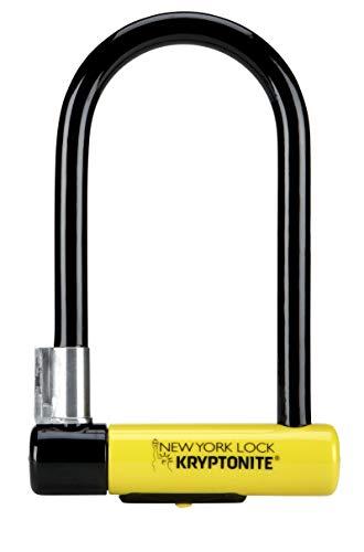 Kryptonite Antirrobo U New York Standard W/Flexframe-U Bracket(102X203) Amarillo, Candados, X