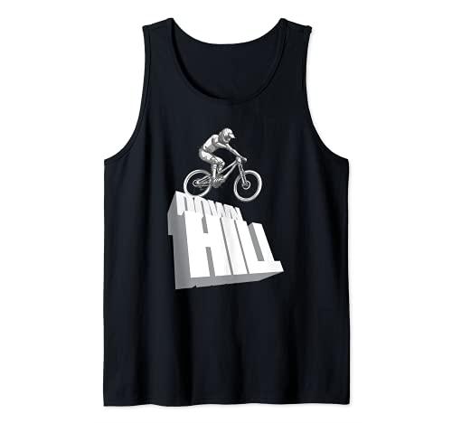 Downhill Mountain Bike - Bicicleta MTB Camiseta sin Mangas