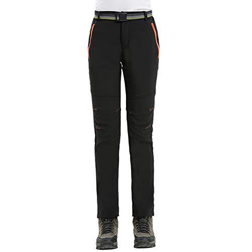 Comcrib Pantalones de Invierno Mujer,Pantalones de Trekking Pantalones Impermeables a Prueba de Viento Pantalones de Montaña Transpirables Pantalones Funcionales Cálidos