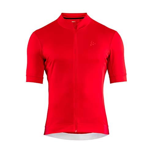 Craft Camiseta Essence M para Hombre, Hombre, Jersey, 1907156, Rojo, S*
