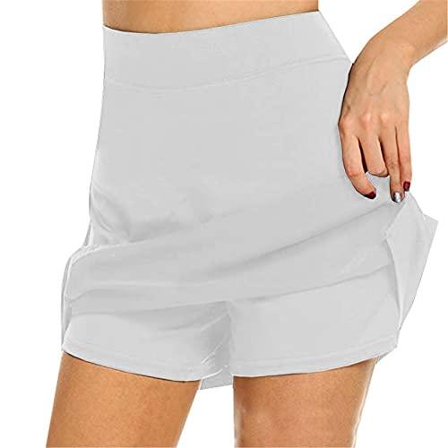 Shanji Active Skorts - Esquís antigolpes para mujer, muy suaves y cómodas, con pantalones cortos...*