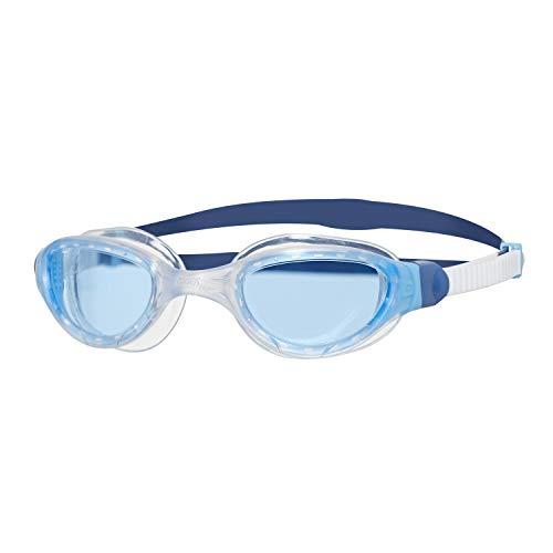 Zoggs Phantom 2.0 Gafas de natación, Unisex Adulto, Blanco/Azul/Tinte, Talla única*