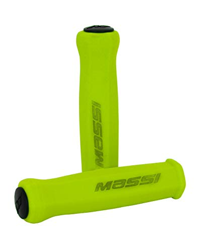 Massi Elite Light Empuñaduras De Espuma, Unisex Adulto, Green, Talla Única*