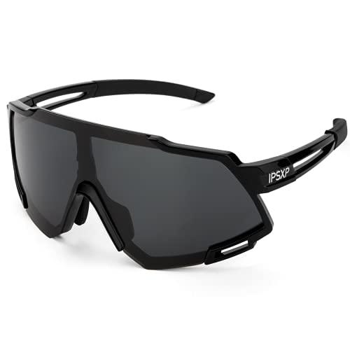 IPSXP Gafas de sol polarizadas para hombres y mujeres gafas de ciclismo deportes conducción bicicleta pesca correr gafas de sol TAC UV400 protección