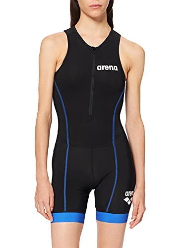 ARENA St 2.0 - Traje de triatlón para Mujer con Cremallera Frontal, Mujer, Traje de triatlón, 001505, Black/Royal, Extra-Small