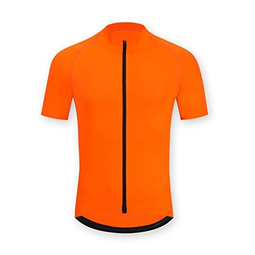 ELNOCSON Maillot Ciclismo para Hombre Camiseta Ciclismo Manga CortaTranspirable Elástico Ropa...*