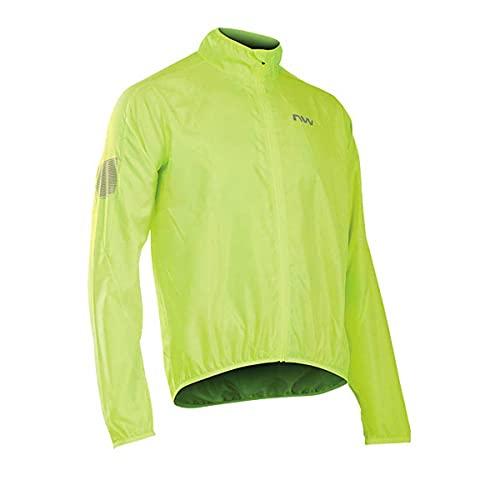 NORTHWAVE Chaqueta ciclismo hombre VORTEX amarillo fluorescente*