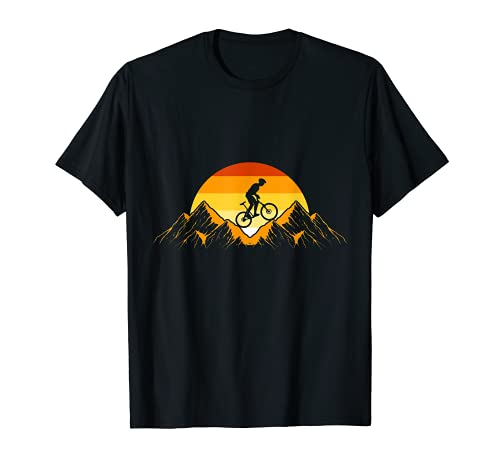 Descenso En Bicicleta De Montaña - Bicicleta De Montaña MTB Camiseta*