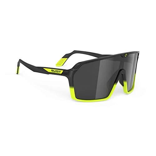 RUDY PROJECT Gafas SPINSHIELD RP Optics (Black Yellow Fluo Matte-Smoke Black)