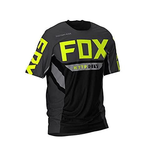 Moto Bicycle Jersey Long Sleeve Cycling Enduro MTB Shirt Downhill T-Shirt Camiseta Motocross MX Mountain Bike Clothing Fox MTB-XL