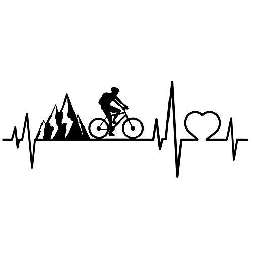 Vinilo Pegatina Ciclista. Decorativo para todo tipo de superficies. Bicicleta montaña, carretera,...*