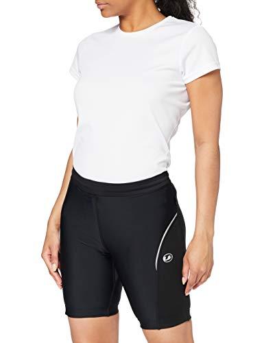 Ultrasport - Pantalones de Ciclismo para Mujer, con Acolchado Preformado, Color Negro, tamaño XS