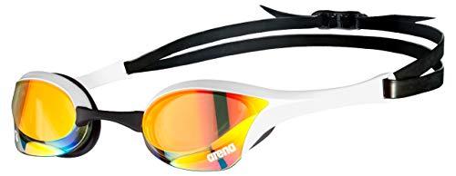 ARENA Gafas Cobra Ultra Swipe Mirror Natación, Unisex niños, Yellow Copper, Talla Única