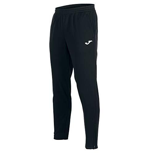 Joma Nilo Pantalon Largo Deportivo, Hombre, Negro, L*