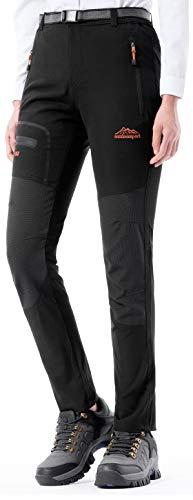 BenBoy Pantalon Montaña Mujer Secado Rápido Impermeable Pantalones Trekking Escalada Senderismo...*
