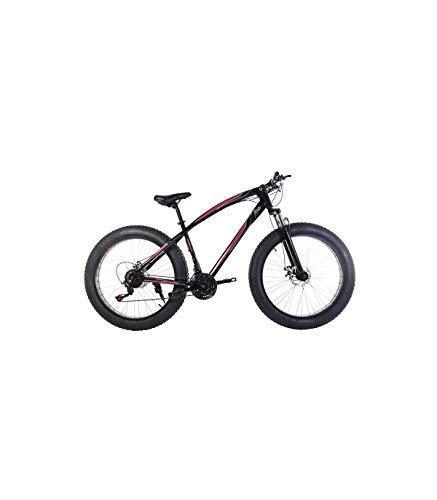 Riscko Bicicleta Fat Bike Todoterreno con Ruedas de 26x4 Pulgadas antipinchazos y Cambio Shimano...*