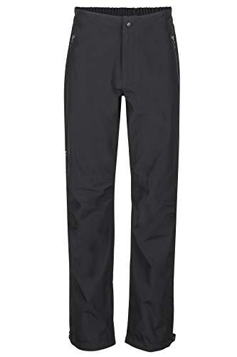 Marmot Minimalist Pant Pantalones Impermeables, Pantalones De Lluvia, Prueba De Viento, Transpirables, Hombre, Black, S