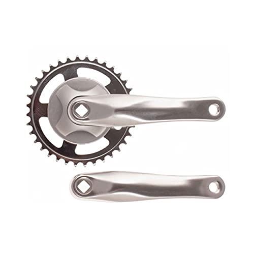 Biela Bicicleta 36 Dientes monoplato 1 Velocidad (Aluminio)*