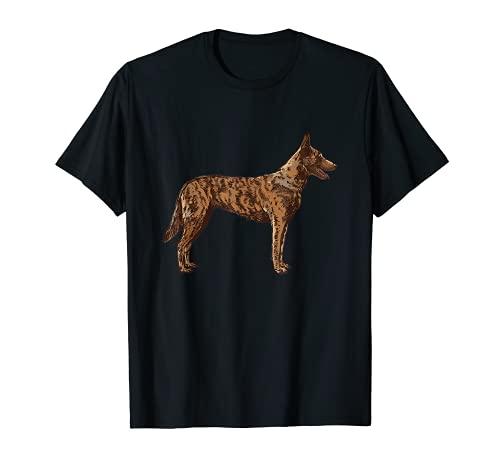 Hollandse Herder Perro pastor holandés Camiseta