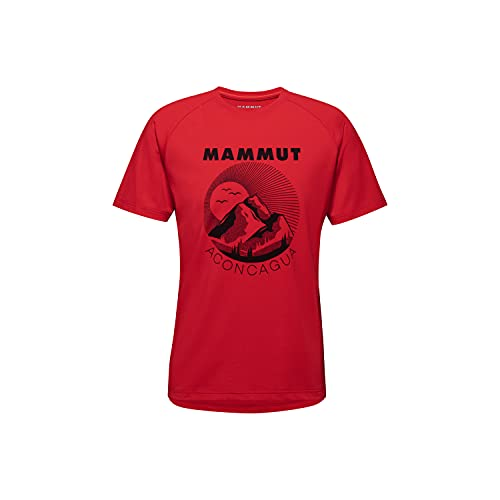 Mammut Mountain Camiseta, Magma Prt1, Large para Hombre