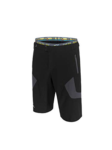 Spiuk Urban Pantalon Corto, Hombres, Negro/Gris, T. L*