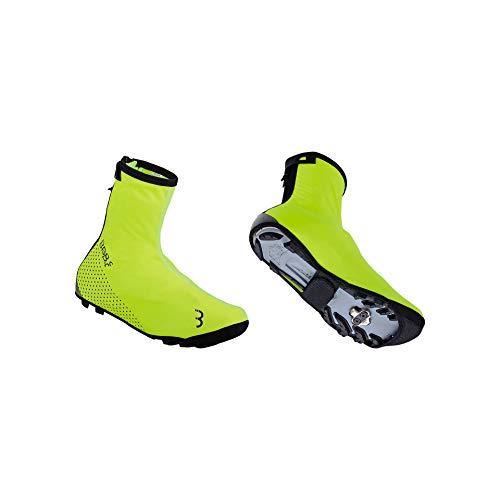 Bbb Cycling Cubrezapatillas WaterFlex 3.0, Unisex, Amarillo Fluorescente, 43/44
