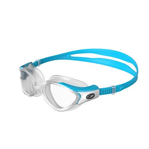 Speedo Futura Biofuse Flexiseal Gafas de Natación, para mujeres, Azul/Transparente, Talla Única