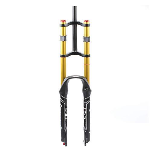 Horquilla delantera para bicicleta MTB 26 27,5 29 pulgadas, tubo recto, cuesta abajo, doble hombro,...*