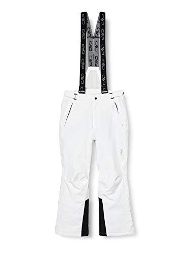 CMP Hose Skihose - Pantalones de esquí Para Hombre, color Blanco (A001), talla 56 EU