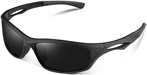 Skevic Gafas Ciclismo Hombre y Mujer - Gafas de Sol Deportivas Polarizadas TR90 ideales para Ciclismo, Running, Deporte, Bicicleta de Montaña, Pesca, Bici, Esquí, Golf, MTB etc. Protección 100% UV400