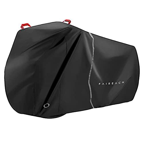 Funda Bicicleta Exterior Impermeable, Cubierta Bicicleta con Tejido 210D Premium, Contra Lluvia Sol...*