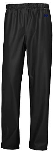 Helly Hansen Moss Outdoor Pantalones Impermeable, Hombre, Negro, XL
