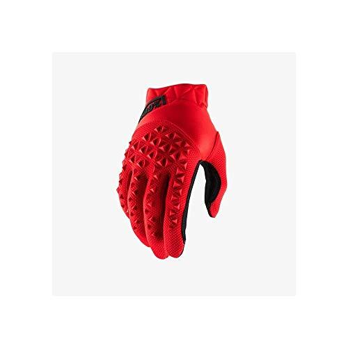Desconocido 100% Airmatic Glove Guantes, Unisex Adulto, Red/Black, SM