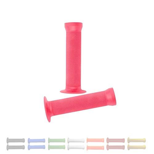 P4B 1 par de puños BMX en color rosa   Ancho = 130 mm / 130 mm   ancho y antideslizante   con...*