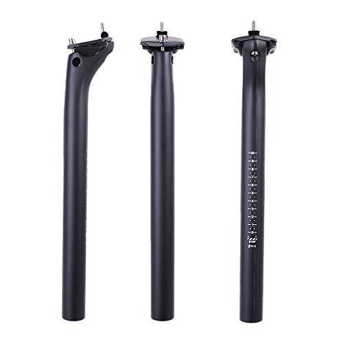 ELITA ONE Tija de sillín MTB de Fibra de Carbono, tija de sillín de Carbono de Repuesto...*