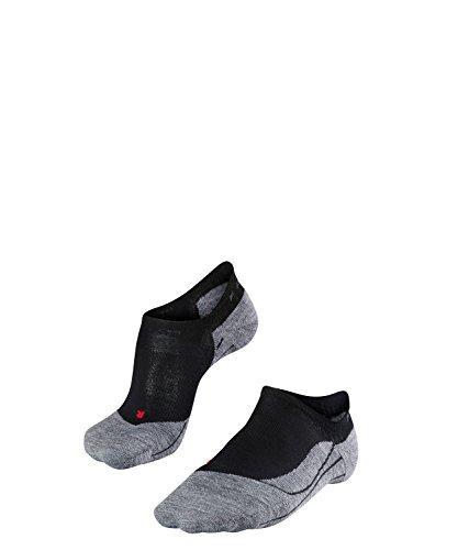 Falke Calcetines de trekking invisibles, para mujer, TK5, mezcla de lana merino, algodón, negro...*
