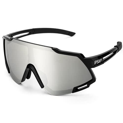 IPSXP Gafas de Sol polarizadas para Hombres y Mujeres Gafas de Ciclismo Deportes conducción...*