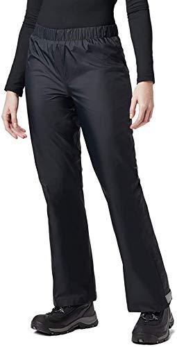 BenBoy Pantalones Impermeables para Mujer YK5311W-Black-S
