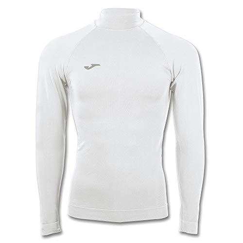 Joma Brama Classic - Camiseta térmica de manga larga para niños, color blanco, talla 12-14 años*