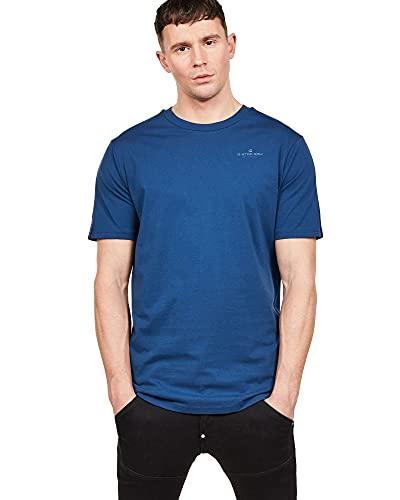 G-Star Raw Korpaz Graphic T-Shirt Camiseta, Negro (Pacific 1862), Small para Hombre