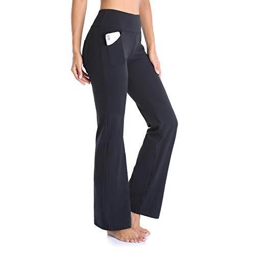 GIMDUMASA Pantalón de Yoga Mujer Pierna Ancha Salón Bootcut Leggings Alta Cintura Pantalones De...*