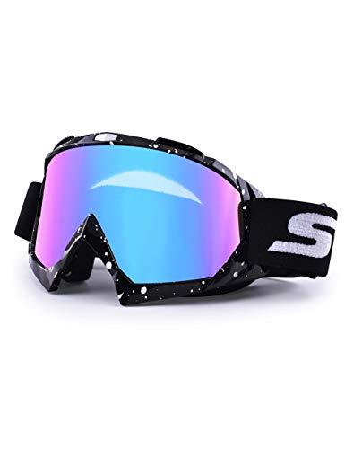 Gafas de Motocross Dirt Bike Racing Gafas de seguridad anti UV Gafas de motocicleta a prueba de...*